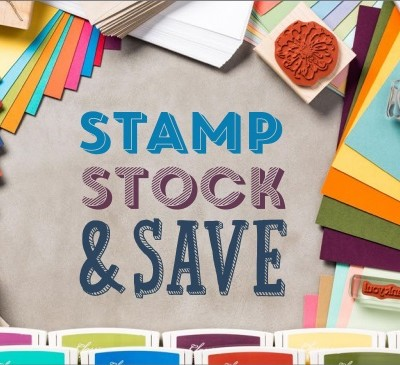 Stampin' Up! Stamp, Stock, Save