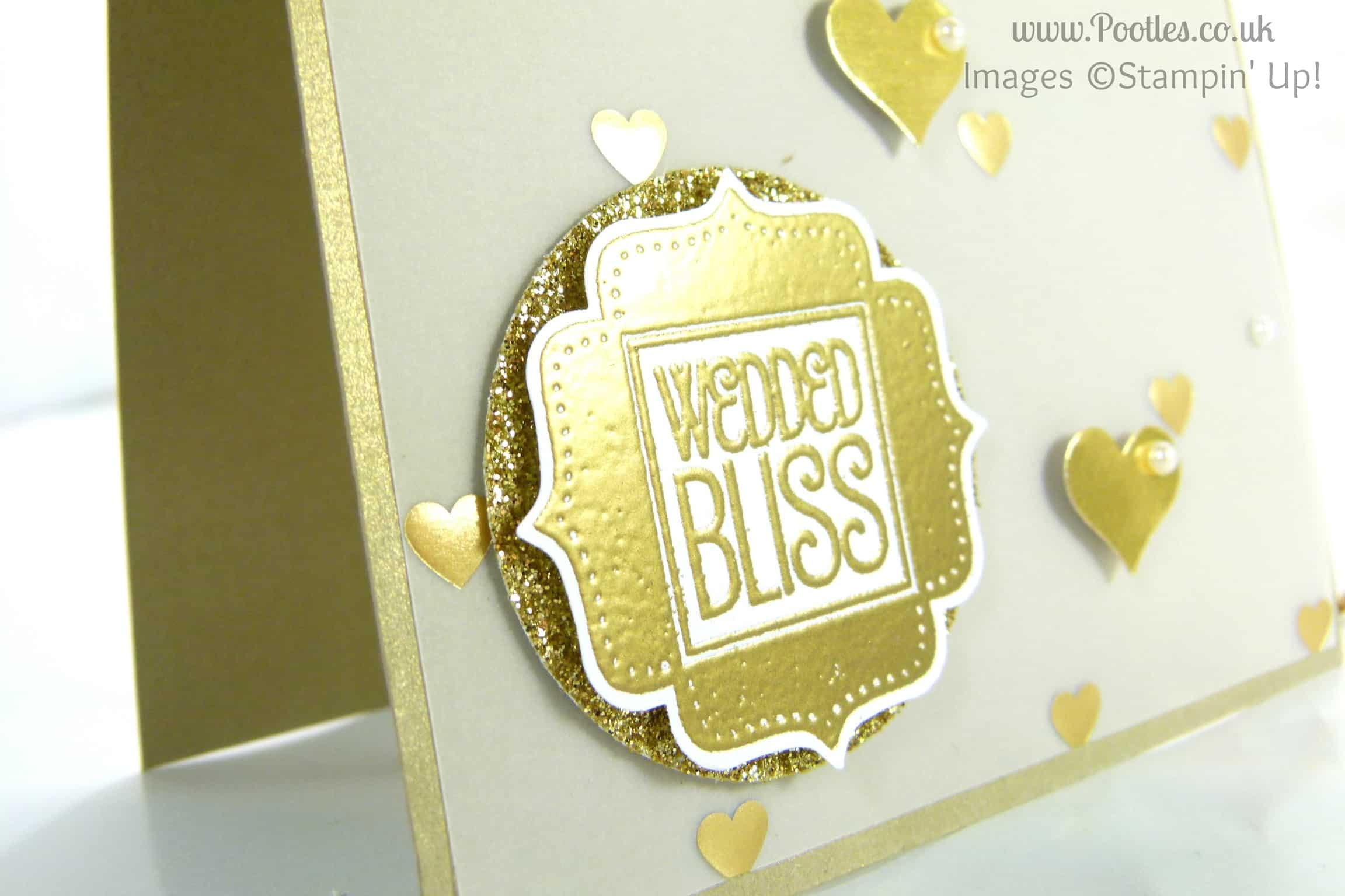 South Hill Designs & Stampin' Up! on Sunday – Golden Card