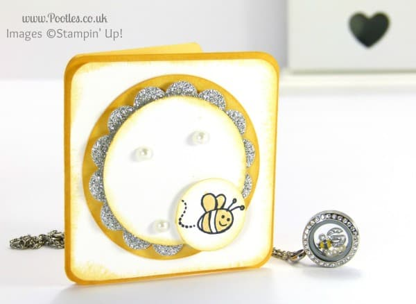 South Hill & Stampin Up! Sunday Mini Bees Tutorial