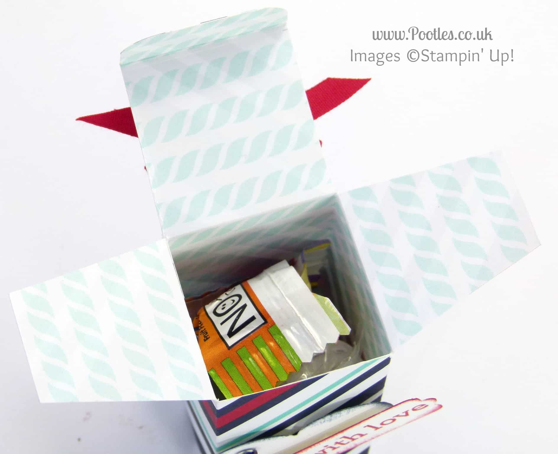 Top View Open Gift Box Top Opening Box Tutorial