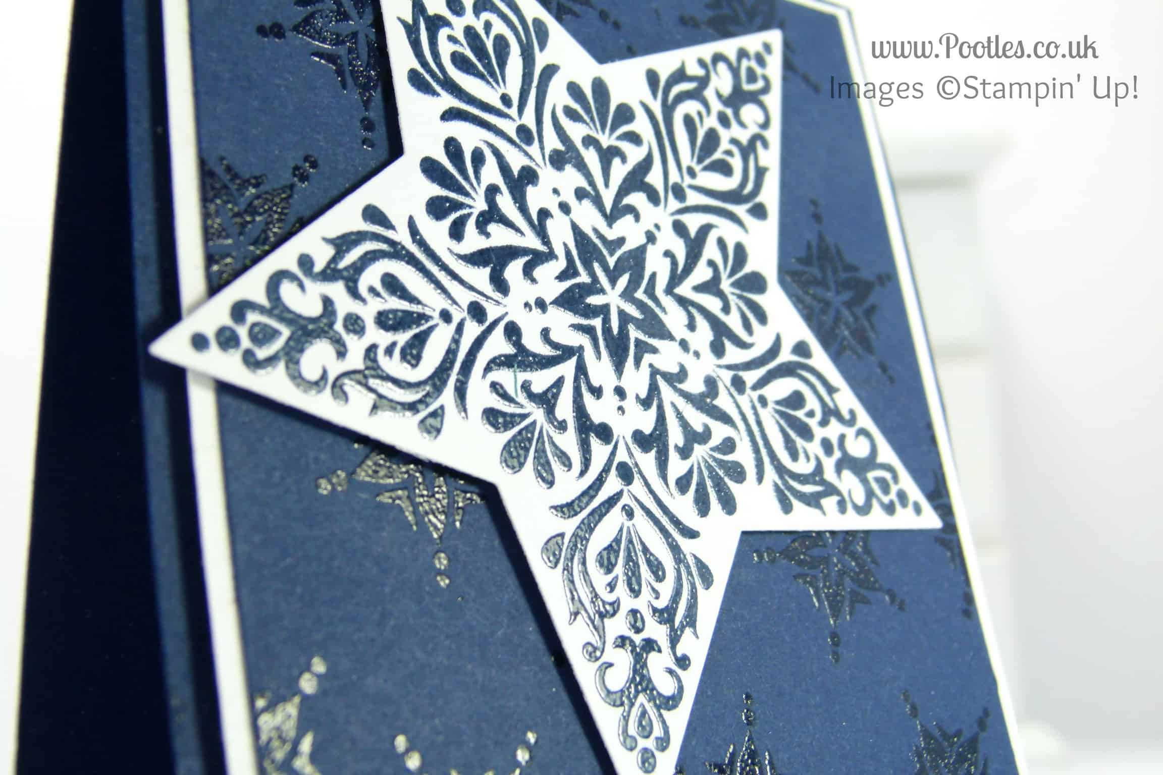 Bright and Beautiful Star Card for Chaps Perhaps…?