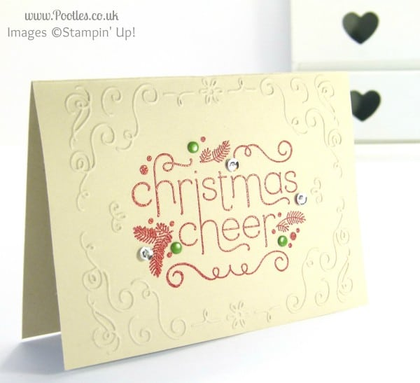 Stampin' Up! UK Demonstrator Pootles - Christmas Cheer Catalogue Copy!!!
