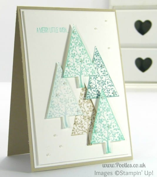 Stampin' Up! UK Demonstrator Pootles - Elevated Festival of Trees