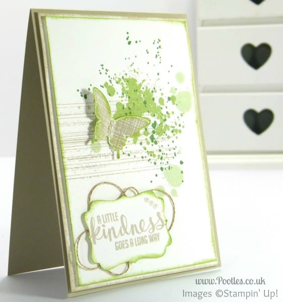 Stampin' Up! UK Demonstrator Pootles - Kinda Eclectic Gorgeous Grunge