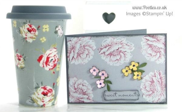 Pootles Stampin' Up! UK Demonstrator - Stippled Blossom Mug Inspiration!