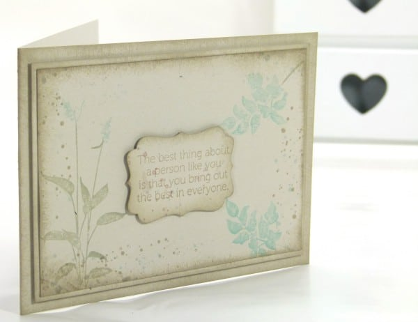 Pootles Stampin' Up! UK Demonstrator - World of Dreams Card.
