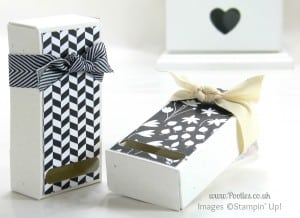 Stampin' Up! UK Demonstrator Pootles 2 Fold Flat Soap Boxes from 1 Piece of Cardstock 2