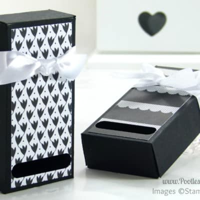 2 Fold Flat Soap Boxes from 1 Piece of Cardstock