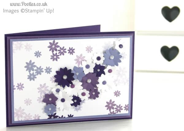 Stampin' Up! UK Demonstrator Pootles - A Purple Blossom Garden Party