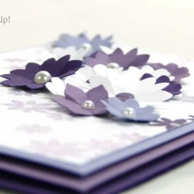 A Purple Blossom Garden Party