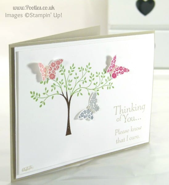 Stampin' Up! UK Demonstrator Pootles - Hopeful Thoughts with Butterflies
