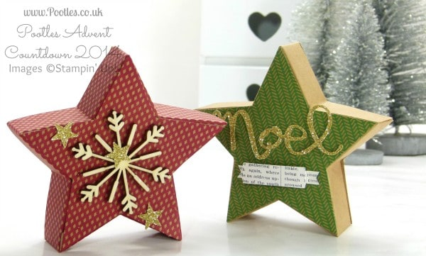 Stampin' Up! UK Demonstrator Pootles - Stampin' Up! Many Merry Stars Kit Plus Opening Version and Put Together