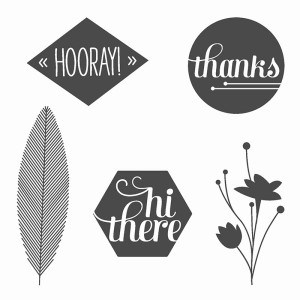 stampin up a happy hooray