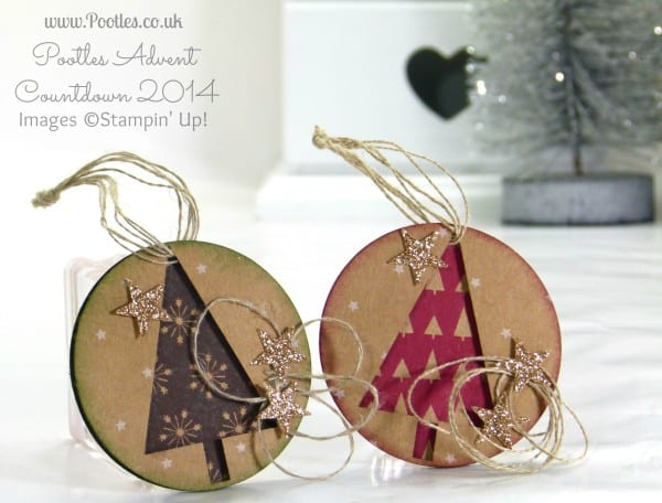 Pootles Advent Countdown #14 Quick N Make It Tag Tutorial