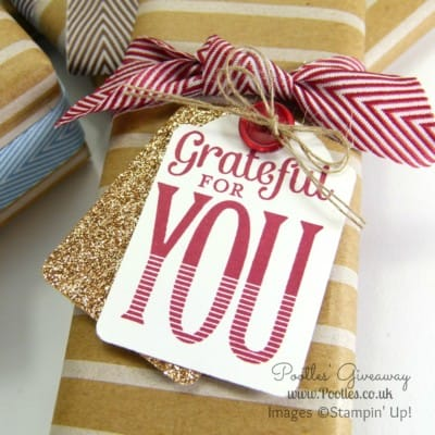 Pootles' Huge Stampin' Up! Giveaway Prize Winners Announced!!!