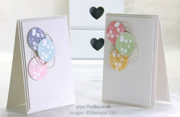 Pootles Soft Subtle Cards using Stampin' Up! Serene Sillhouettes