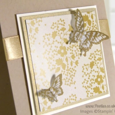 South Hill Designs & Stampin' Up! Sunday Golden Butterflies Showcase