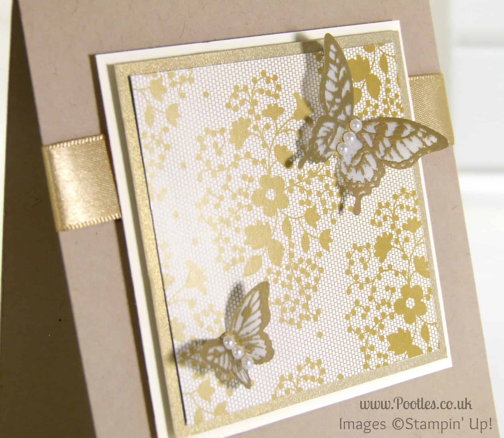 South Hill Designs & Stampin' Up! Sunday Golden Butterflies Showcase