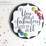 South Hill Designs & Stampin' Up! Sunday Rainbows Card