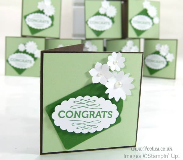 Stampin' Up! UK Demonstrator Pootles - Congratulations Cards!