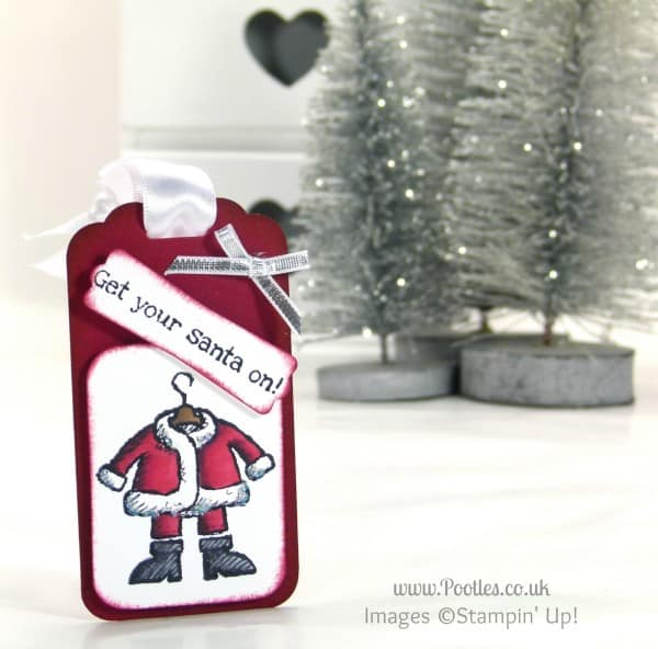 Stampin' Up! UK Demonstrator Pootles - Get your Santa on with Stampin' Up! Blendabilities