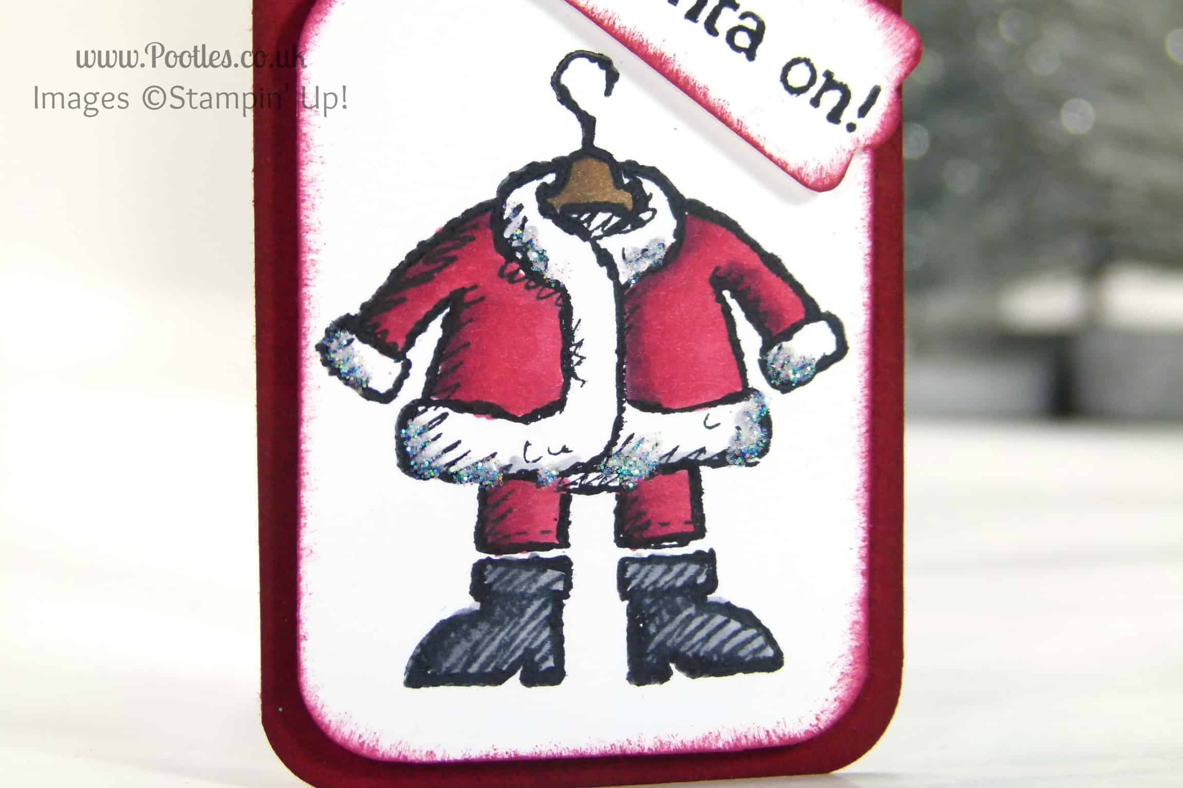Get your Santa on with Stampin' Up! Blendabilities