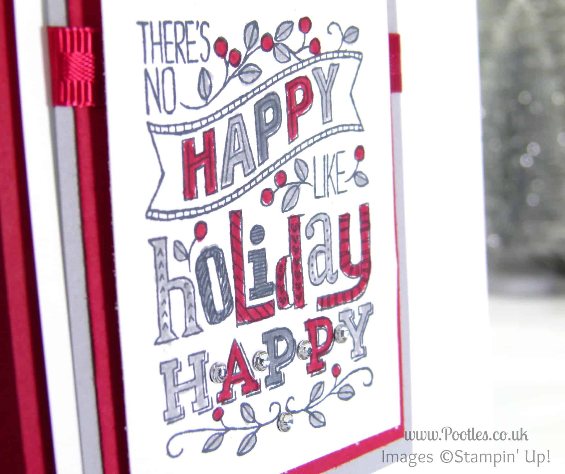 Stampin' Up! UK Mingle All The Way with Reds & Greys….