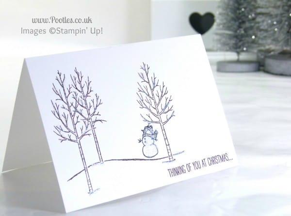 Stampin' Up! UK Independent Demonstrator Pootles - A White Christmas with Stampin' Up! UK