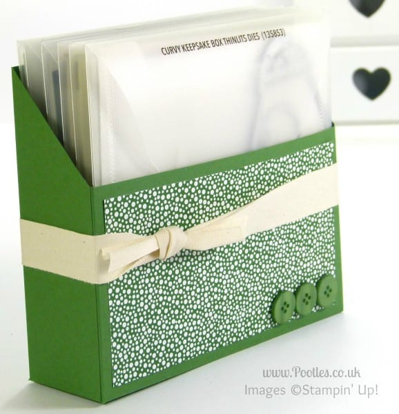 Large Thinlits Die Holder Tutorial from Stampin' Up! UK Demo Pootles Nordic Noel