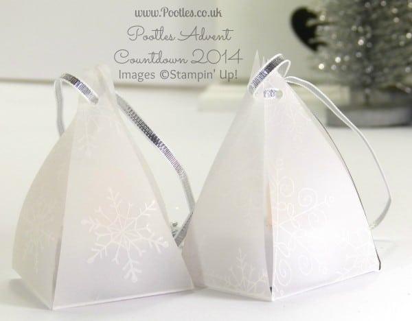 Pootles Advent Countdown #20 Envelope Punch Board Lantern Tutorial