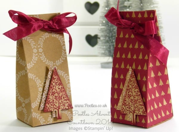 Pootles Bonus Advent Countdown Table Gift Tutorial