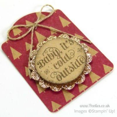 Quick Note Tag Punch Under the Tree Tags