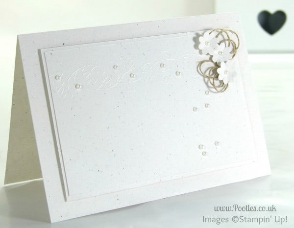 Stampin' Up! UK Demonstrator Pootles - Tone on Tone Boutique Borders and Boho Blossoms