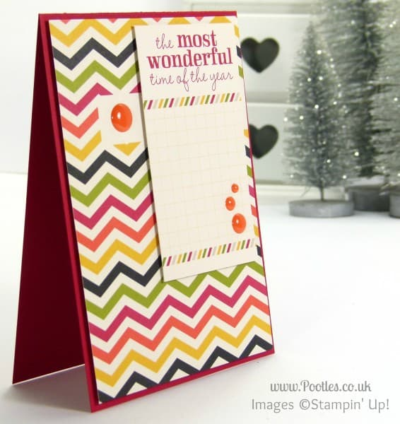 Stampin' Up! UK Demonstrator Sam Donald - Project Life Seasonal Snapshot Christmas Cards 1