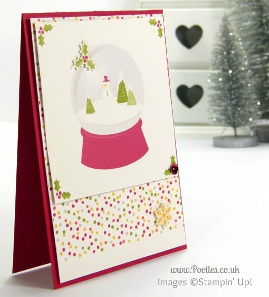 Stampin' Up! UK Demonstrator Sam Donald - Project Life Seasonal Snapshot Christmas Cards 2