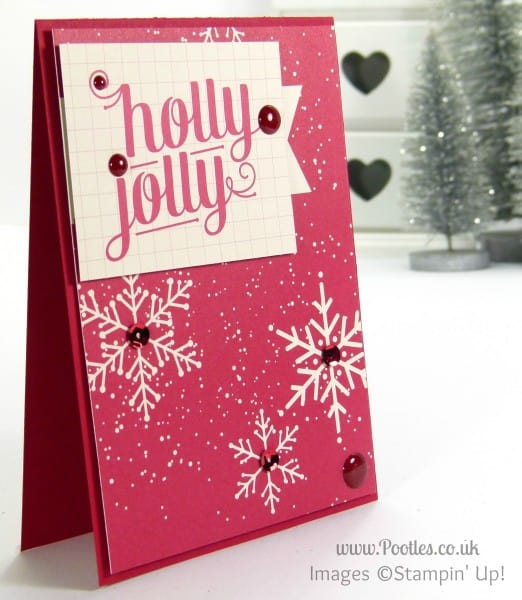 Stampin' Up! UK Demonstrator Sam Donald - Project Life Seasonal Snapshot Christmas Cards 3