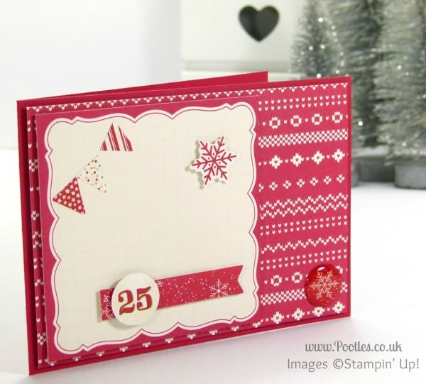 Stampin' Up! UK Demonstrator Sam Donald - Project Life Seasonal Snapshot Christmas Cards 4