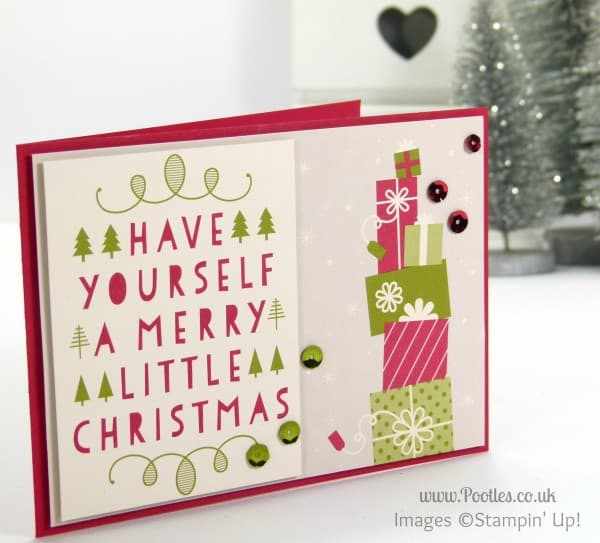 Stampin' Up! UK Demonstrator Sam Donald - Project Life Seasonal Snapshot Christmas Cards 5