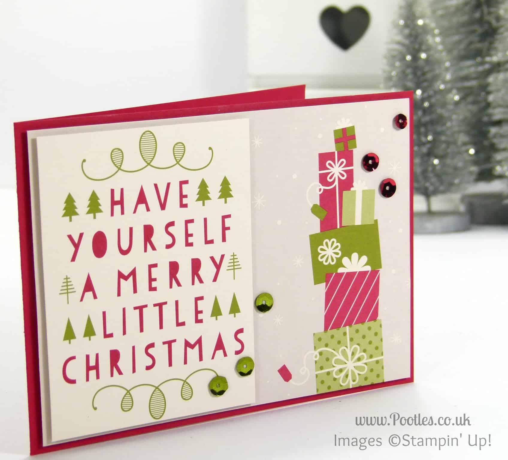 Project Life Seasonal Snapshot Christmas Cards