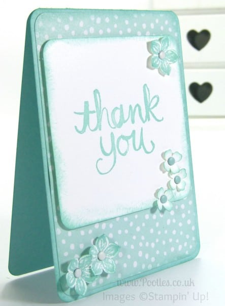 Watercolour Thank You - 12 Deals of Christmas Full Card