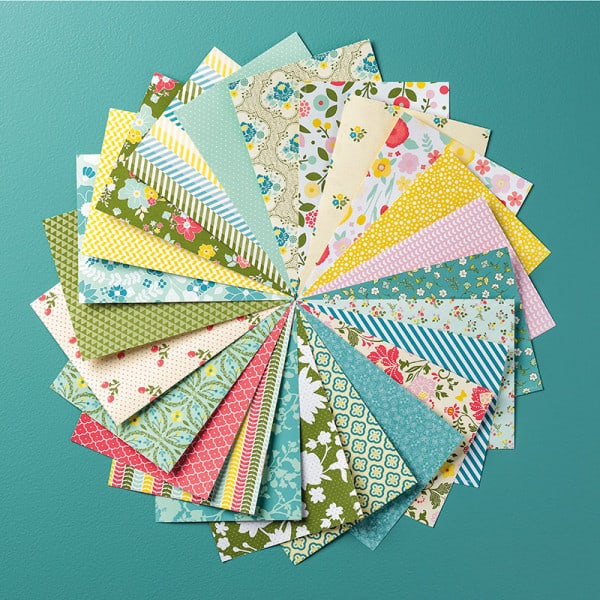 stampin up all abloom