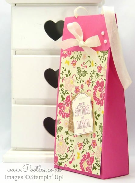 Pootles Stampin' Up! Independent Demonstrator - Tall All Abloom Box Plus Live Blooper Fix.... Strawberry Slush