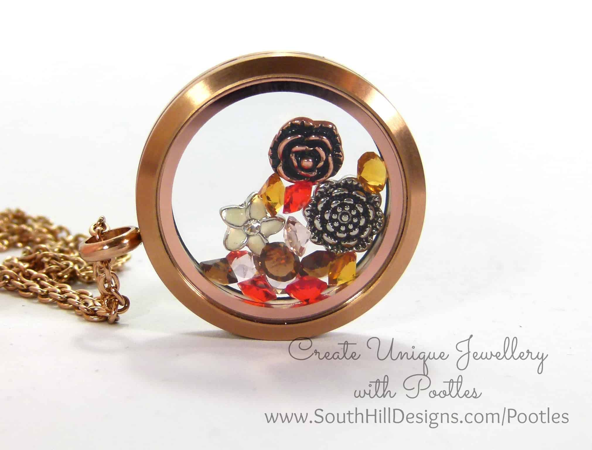 South Hill Designs & Stampin' Up! Sunday Irresistibly Yours Locket Box Tutorial
