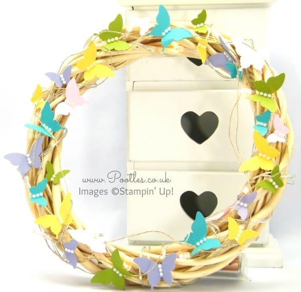 SpringWatch 2015 Butterfly Illuminated Wreath Tutorial