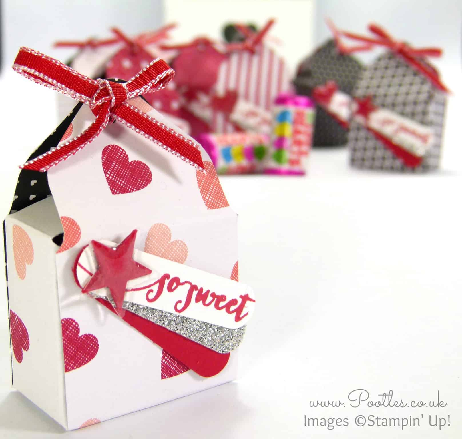 SpringWatch 2015 Envelope Punch Board Love Hearts Box Tutorial