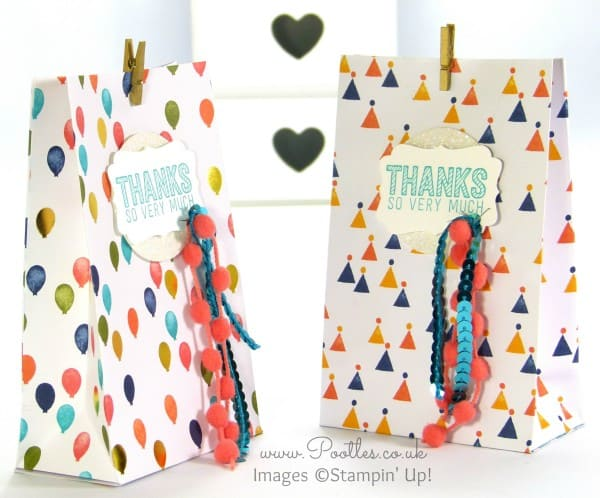 SpringWatch 2015 Fold Flat Birthday Bash Goodie Bag Tutorial