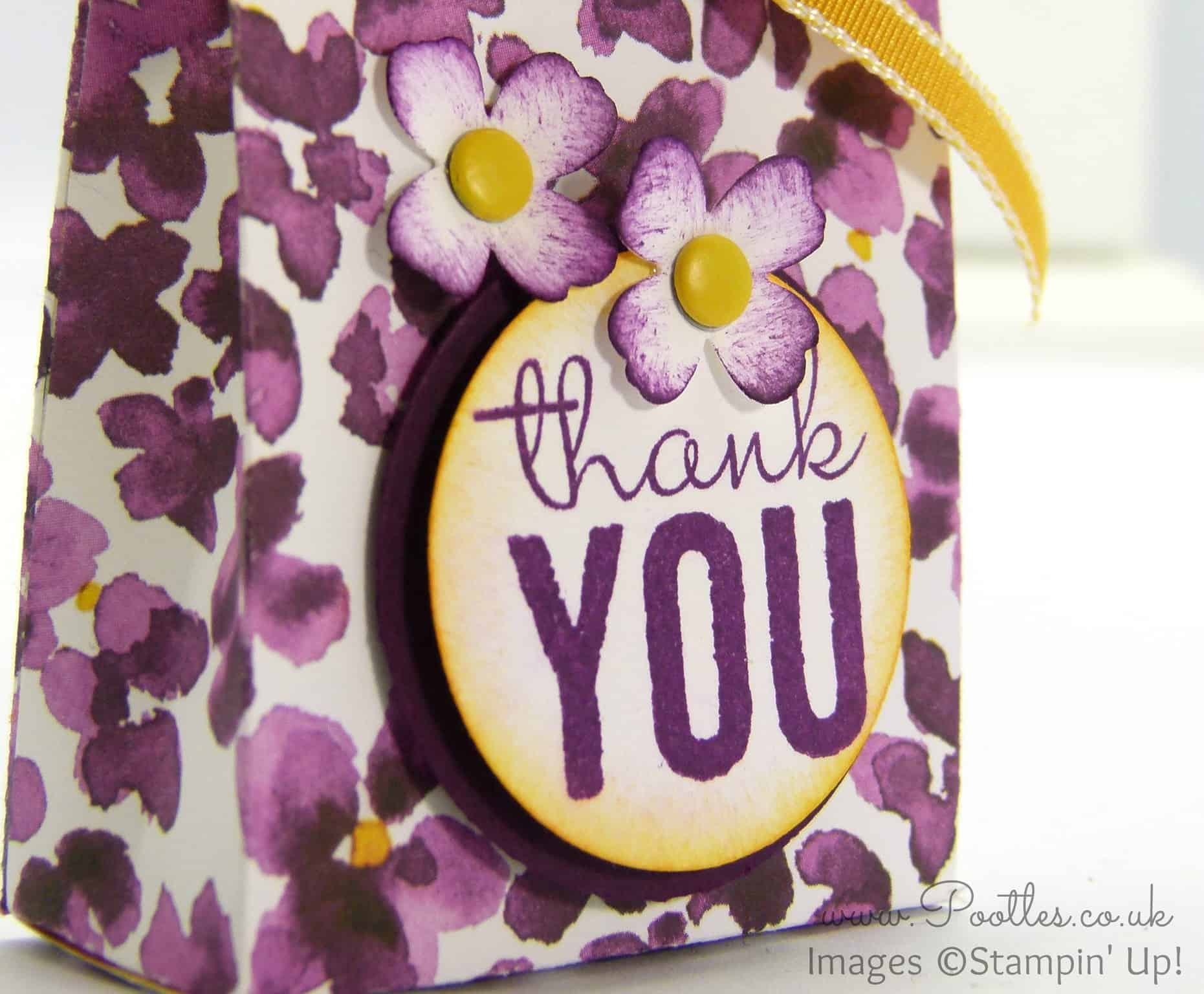SpringWatch 2015 Painted Blooms Bag Tutorial
