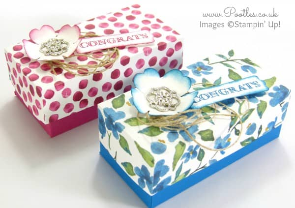 SpringWatch 2015 Rectangular Floral Lidded Box Tutorial 3D aspect