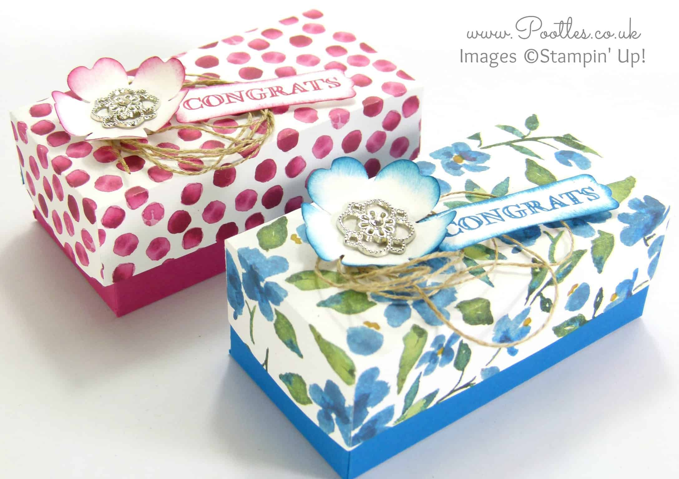 SpringWatch 2015 Rectangular Floral Lidded Box Tutorial