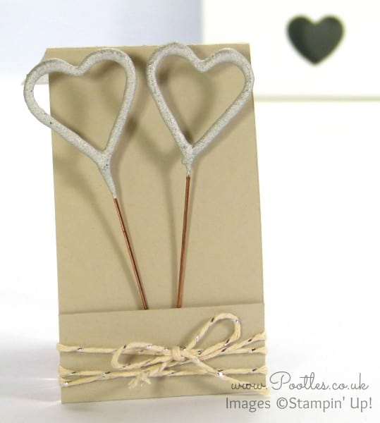 SpringWatch 2015 Sparkler Wedding Favour Match Book Tutorial Open